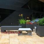 Šveitsi käsitöö istutuspotid ja aiamööbel